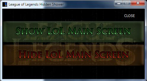hideshow